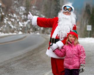 Santa on Baker